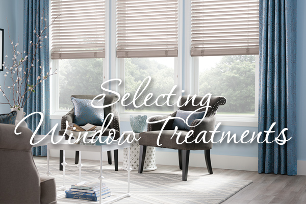 Selecting Window Treatments - Bismarck, Nd - House Of Color